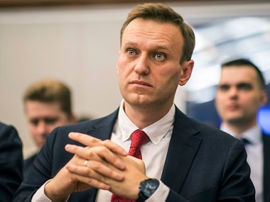 File image of Russian Opposition leader Alexei Navalny. AP