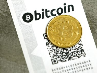 A Bitcoin Virtual Currency Paper Wallet With QR Codes Image Reuters