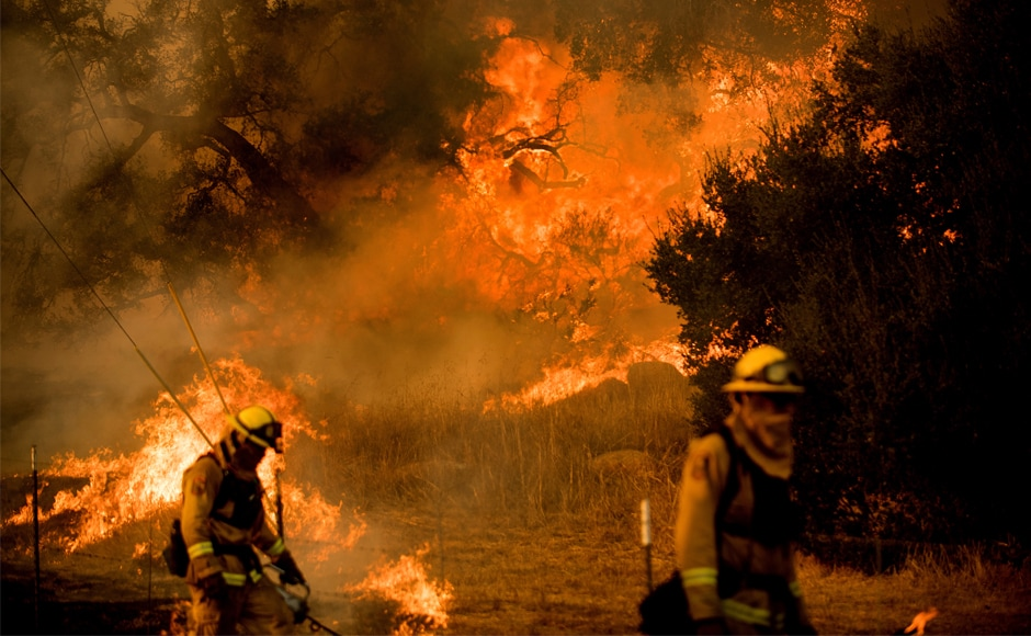 GVFD firefighters head to California to battle wildfires