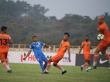 File image of Chennai City FC in action. Image courtesy: I-League