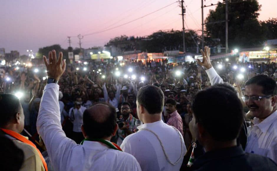 "Campaigning in the Patidar-dominated Amreli constituency, the Congress leader accused the prime minister of waiving loans worth Rs 1.25 lakh crore ""of his five-ten industrialist friends"