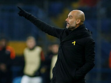 File image of Manchester City boss Pep Guardiola. Reuters