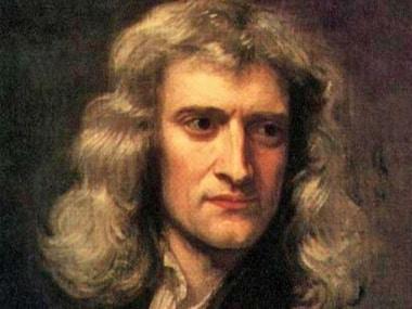 Isaac Newton. Image: Wikemedia