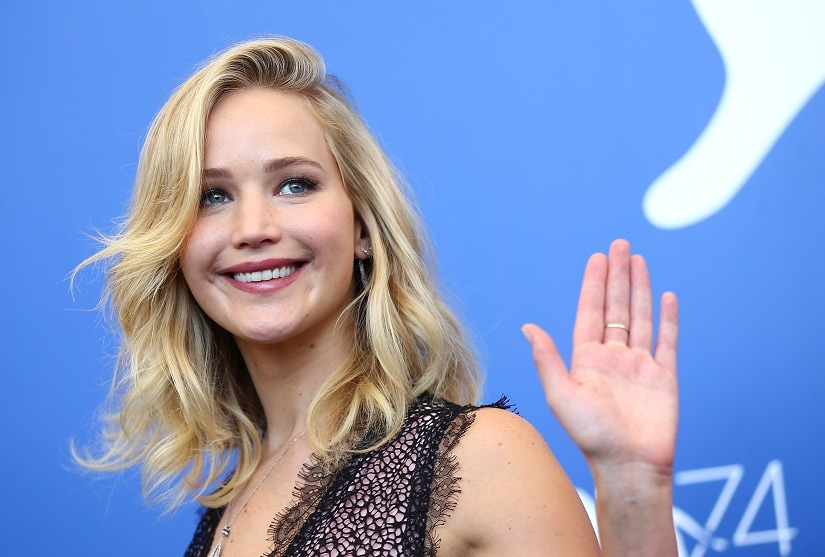 Jennifer Lawrence's a middle school dropout