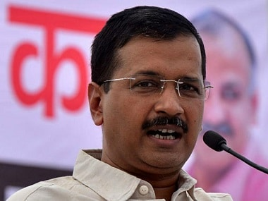 File image of Delhi chief minister Arvind Kejriwal. News18