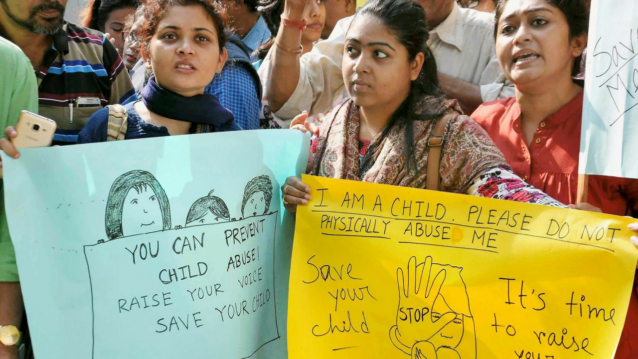 addressing the issue of child molestation