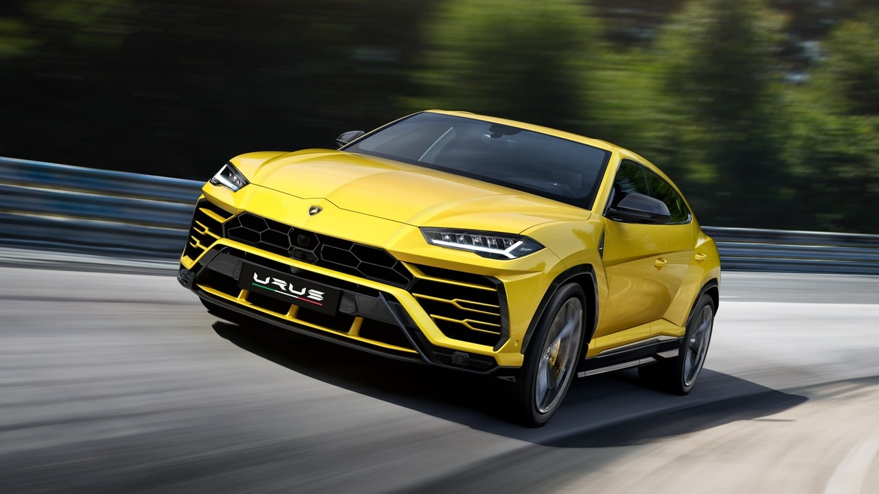 The Lamborghini Urus in Images: The Italian super car maker's re-entry into the sports utility vehicle segment