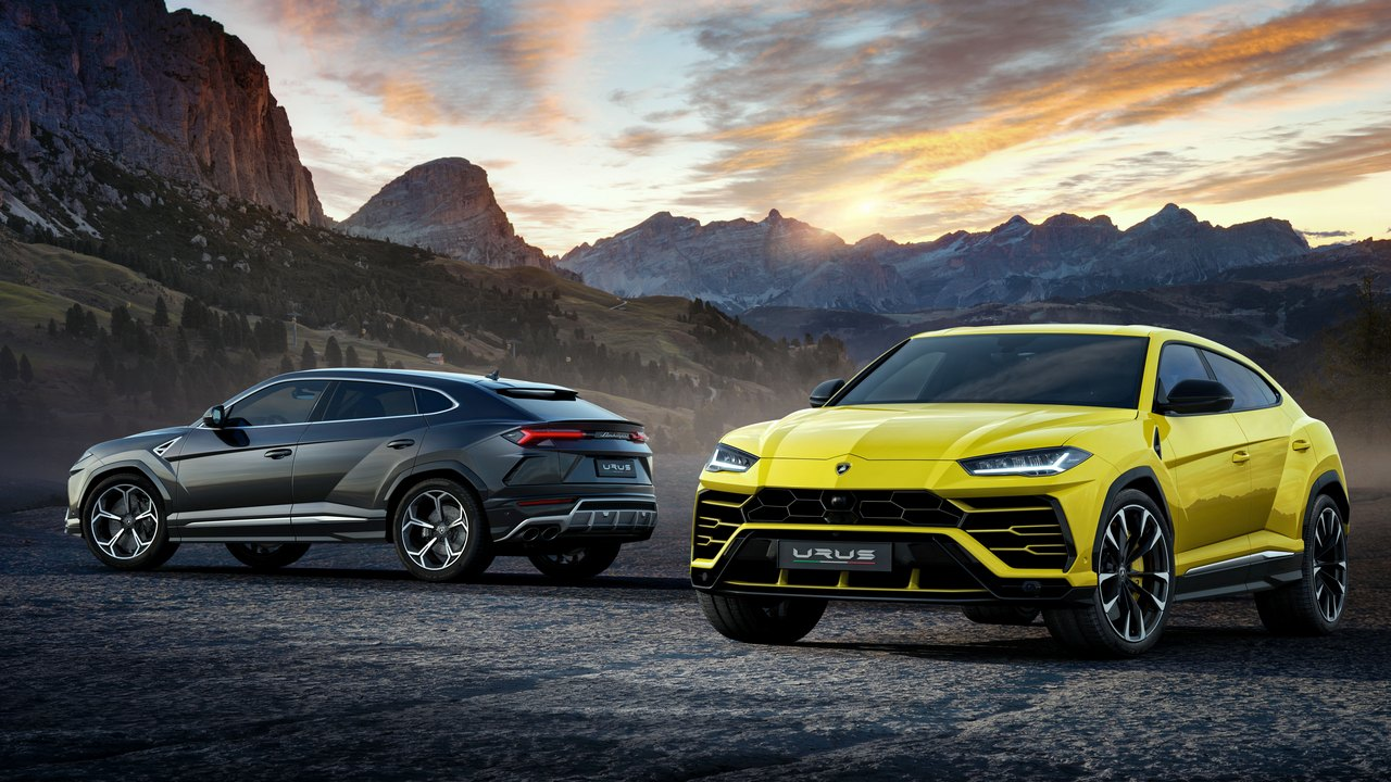 SUVs are the fastest-growing overall segment of the car market, tripling in sales in a decade. Image: Lamborghini