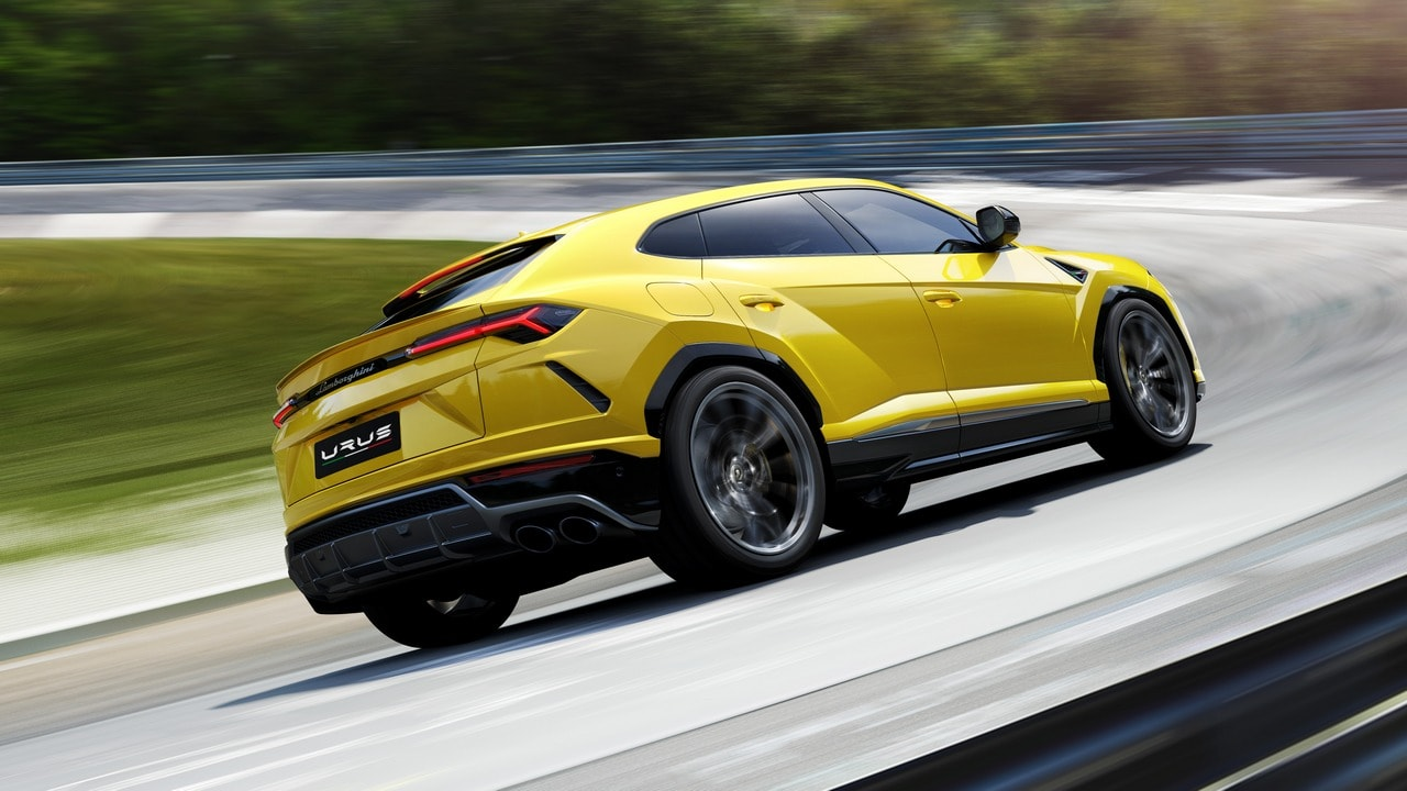 The Lamborghini Urus in Images The Italian super car maker's re-entry into the sports utility vehicle segment