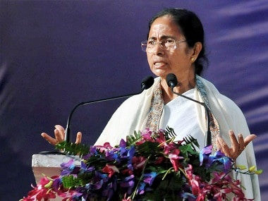 West Bengal chief minister Mamata Banerjee addresses during the special inaugural session of the 78th Indian History Congress. PTI