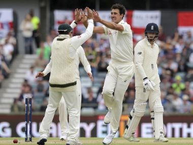 Ashes 2017: Mitchell Starc cleans up James Vince with stunning delivery hailed as 'ball of the century'