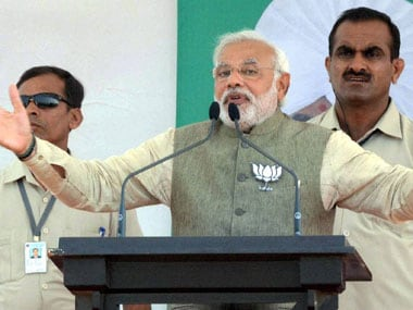Denied security clearance for roadshow, Narendra Modi to wind up Gujarat poll campaign with seaplane journey today
