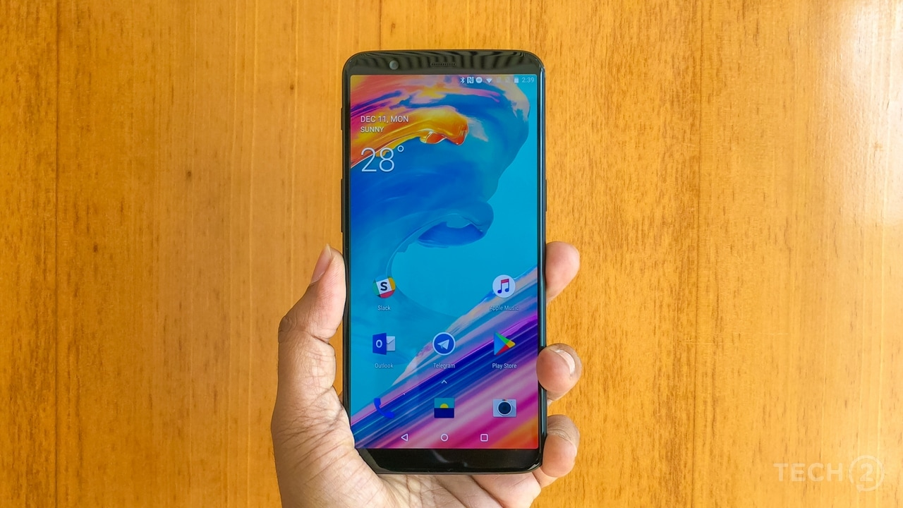 Thanks to the new 18:9 display, this OnePlus looks like it was designed in 2017.