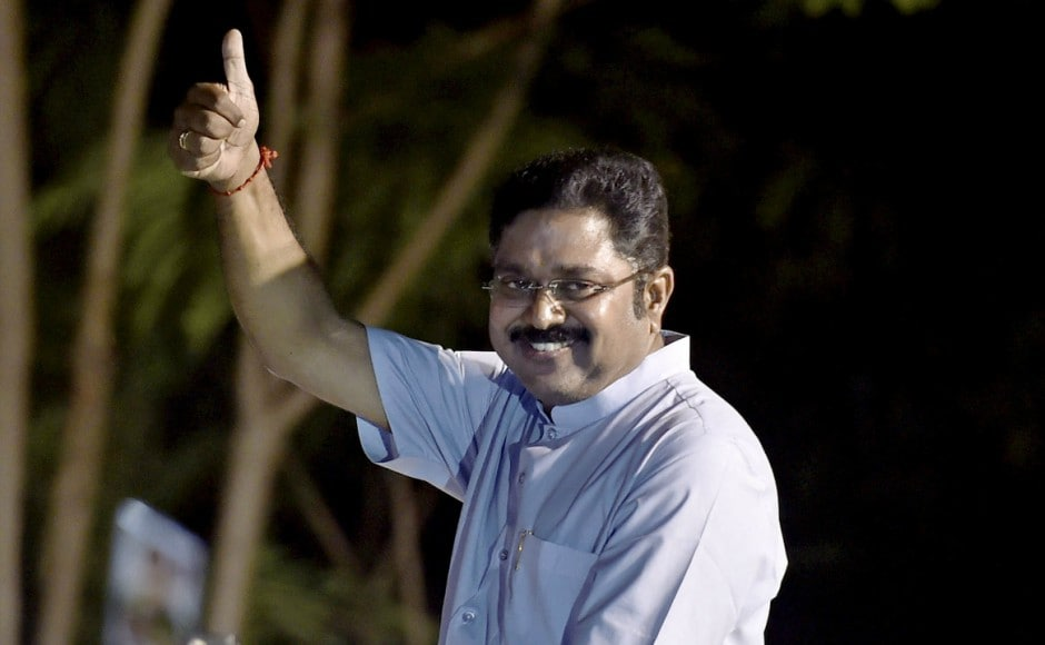 The ruling AIADMK on Sunday alleged there was a 'tacit understanding' between TTV Dhinakaran and the Opposition DMK to defeat it in the RK Nagar bypoll. Dhinkaran secured over 50% votes. PTI