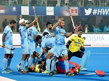 File image of Indian hockey team. PTI