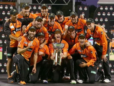 Perth Scorchers defeated Sydney Sixers in the final of the sixth edition to win their third title. Image courtesy: Twitter/@ScorchersBBL