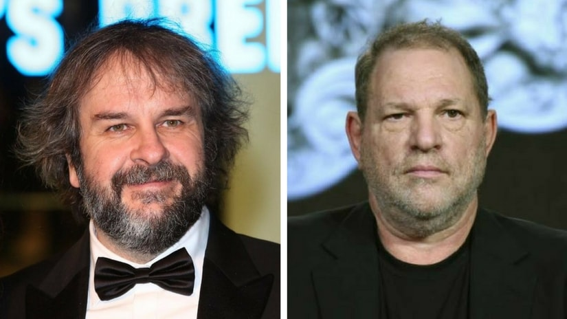 Acclaimed director Peter Jackson (of The Hobbit, LOTR fame) and Harvey Weinstein (right). Images via Facebook