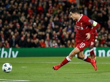Liverpool's Philippe Coutinho. Reuters
