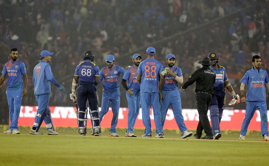 Yuzvendra Chahal, Kuldeep Yadav spin a web around Sri Lanka as India go 1-0 up at Cuttack