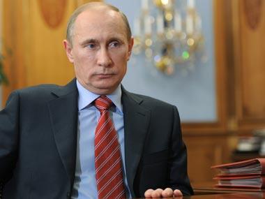 File image of Vladimir Putin. AP