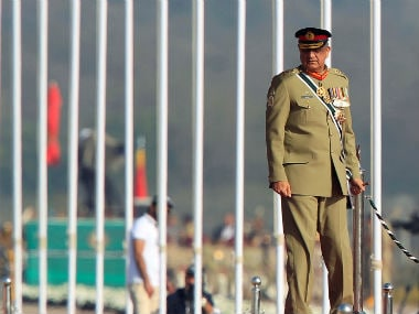 A file image of Pakistan Army Chief Qamar Javed Bajwa. Reuters