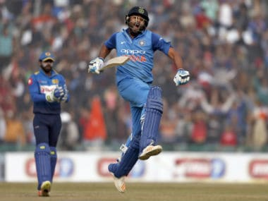 As Rohit Sharma scores 3rd ODI double ton, Twitterati exclaim 'Sharmaji ka beta setting unrealistic standards'