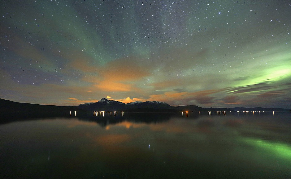 On the trail of the Aurora Borealis: Chasing the northern lights across the Arctic Circle