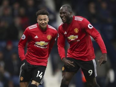 Romelu Lukaku and Jesse Lingard were on target as Manchester United saw off West Bromwich Albion at The Hawthorns. AP