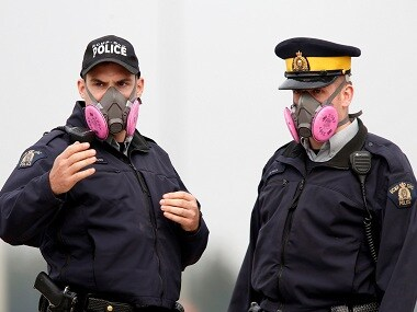 Representational image of Royal Canadian Mounted Police. Reuters