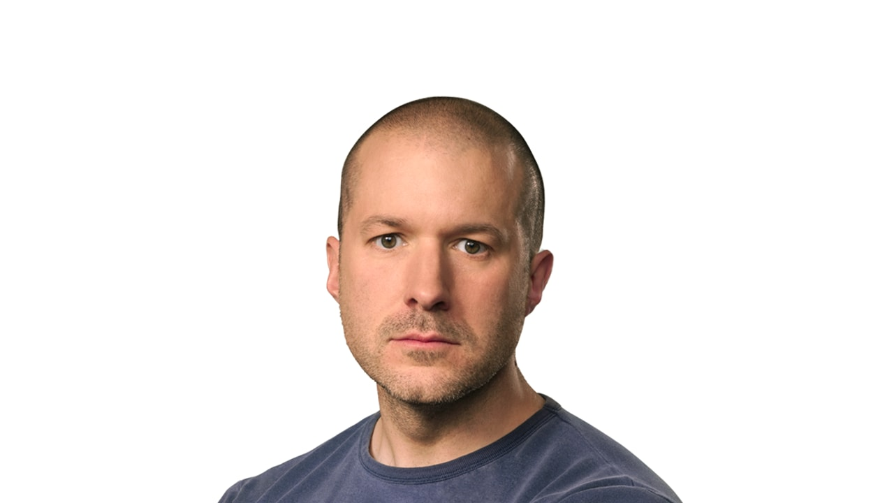Sir Jonathan Ive to the rescue. Image: Apple