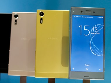 Sony Xperia phones MWC 2017. Reuters