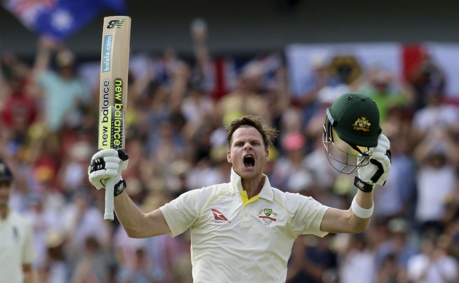 Steve Smith registers highest score as Mitchell Marsh slams comeback ton to help Australia surge ahead on Day 3