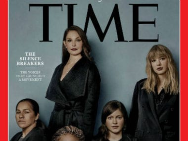 The Silence Breakers were TIME's Person of the Year. Image courtesy: @time/Facebook