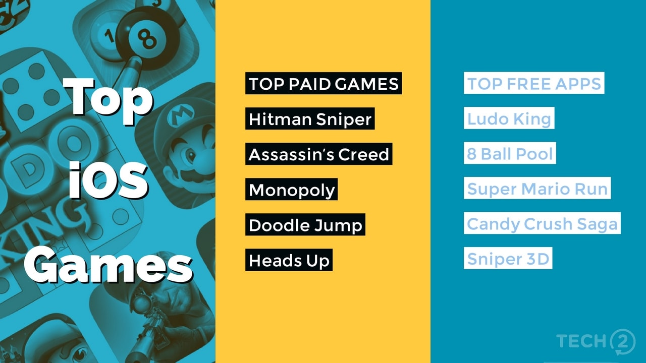 Top iOS games of 2017