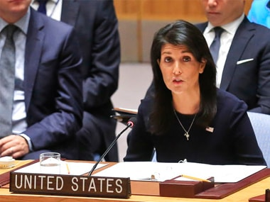 US ambassador Nikki Haley says Donald Trump's Afghanistan policy is working