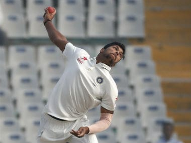 India's Umesh Yadav. AP