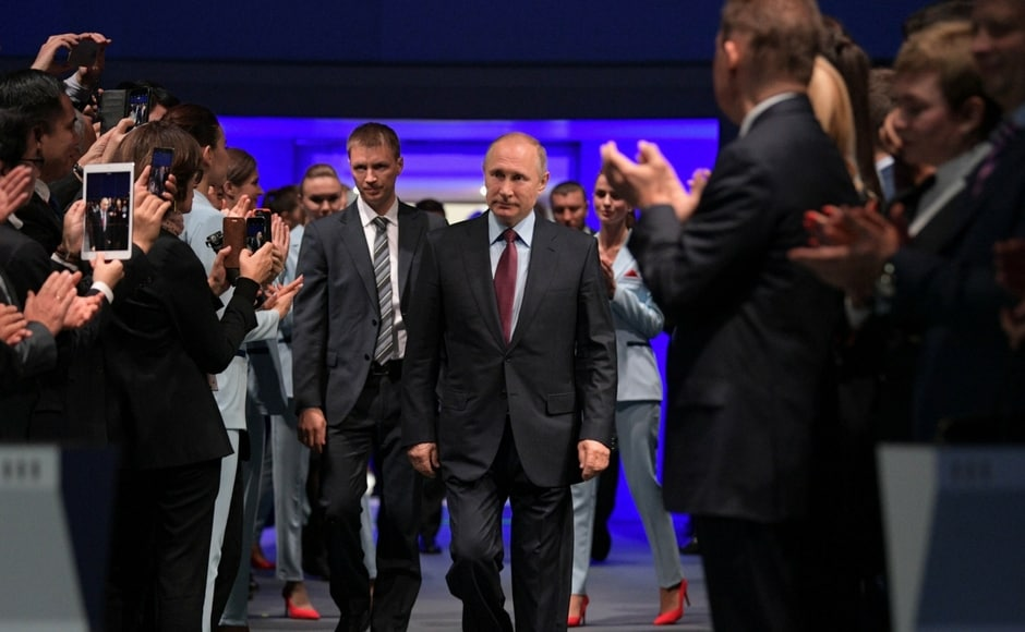 Russian president Vladimir Putin launches $27 billion LNG project in Siberian Arctic