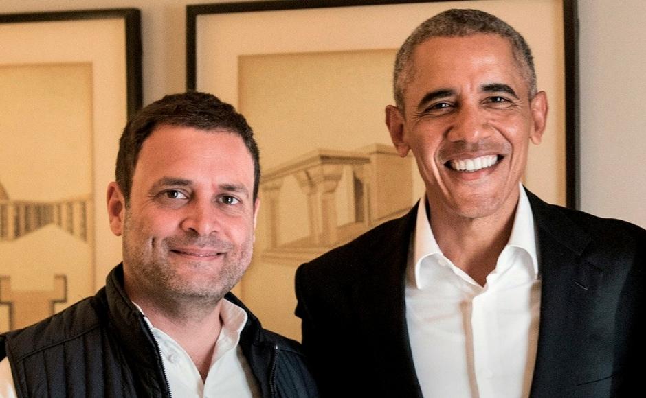 Obama also met Congress vice-president Rahul Gandhi at the event. Reliance Industries chief Mukesh Ambani and Uttar Pradesh chief minister Yogi Adityanath were other dignitaries who attended the HT Leadership Summit 2017. Twitter@OfficeOfRG
