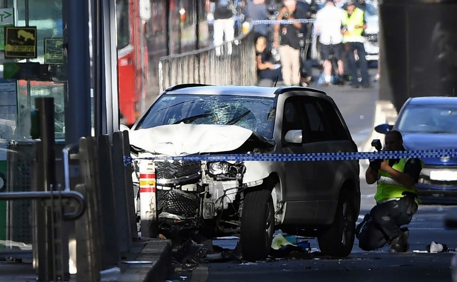 Over 19 injured in Australia's Melbourne as car ploughs into pedestrians; driver arrested