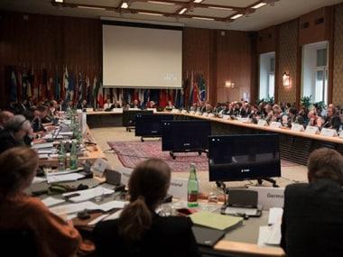File image of a meeting of the Wassenaar Arrangement regime. Image credit: Wassenaar.org