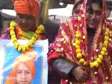 Woman who married Yogi Adityanath's picture charged with sedition for stopping UP CM's convoy