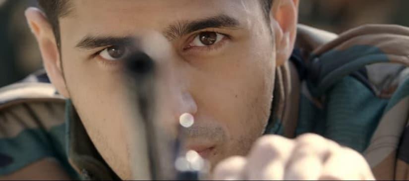 Sidharth Malhotra in a still from Aiyaary. YouTube