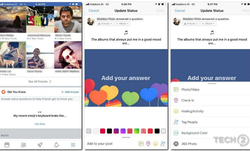 Facebook brings a Did You Know feature.