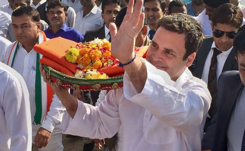 Rahul Gandhi begins three-day trip to Gujarat with visit to Somnath temple