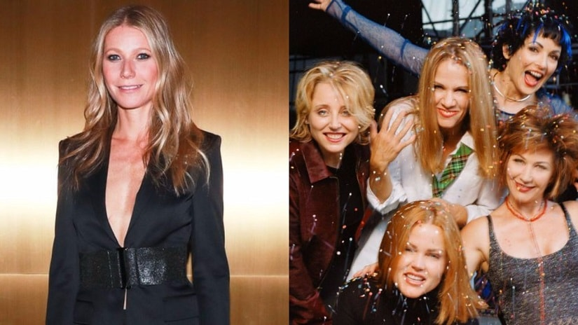 Gwyneth Paltrow-The Go-Gos. Images from Twitter.