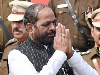 File image of Union MoS, Home Affairs Hansraj Ahir. Twitter @ahir_hansraj