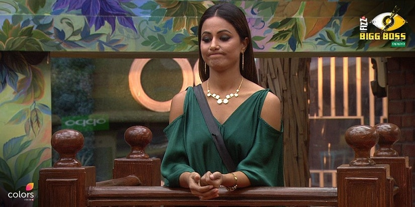 Hina is pulled up for using chili powder. Image Twitter/@ColorsTV