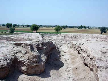 Ruins of the Indus Valley civilisation. S Gupta/Imperial College, London