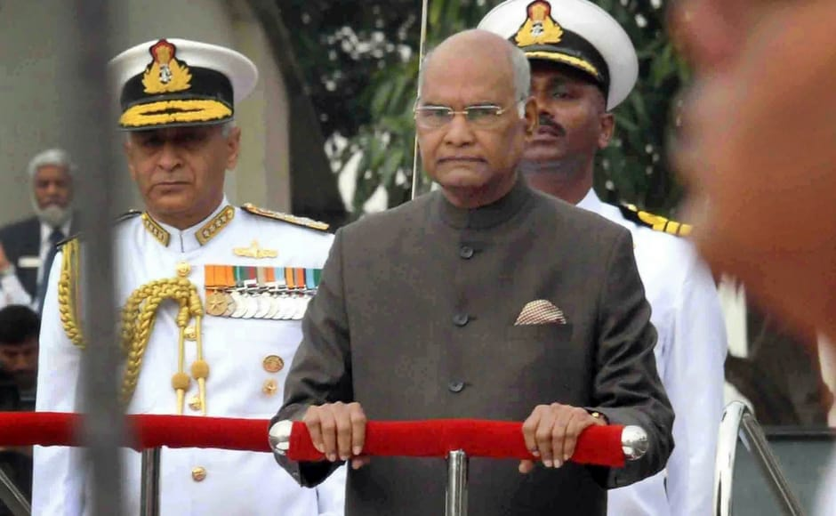 President's Colour presented to the Submarine Arm of Indian Navy