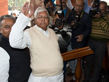 Lalu Prasad constitutes RJD's national executive panel from jail; team includes lawyer Ram Jethmalani